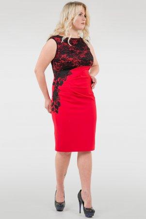 V&V. Платье 1946-2.47 красное. Артикул: 1946-2.47