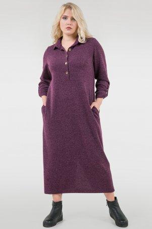 V&V. Платье 2677-1.105 фиолетовое. Артикул: 2677-1.105