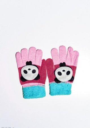 ISSA PLUS. Детские перчатки и варежки. Артикул: 7874_голубой/малиновый