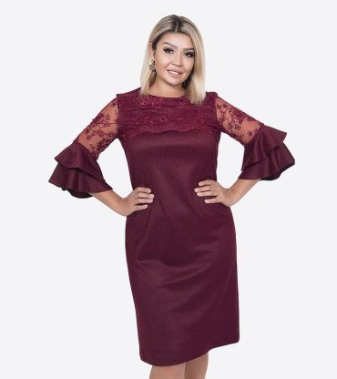 VOKARI. Платье. Артикул: 1819(plus size)