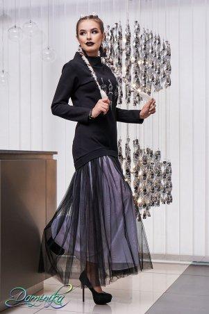 "Daminika. Платье-свитер в пол ""Fleur"". Артикул: 11743 A"