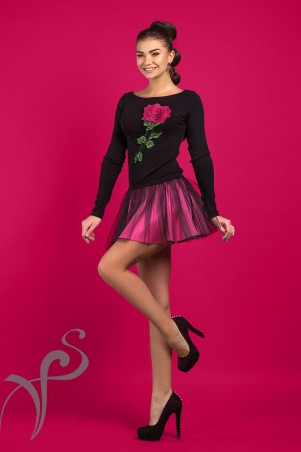 "Vision FS. Платье с вышивкой ""Avril"". Артикул: 16536 A"