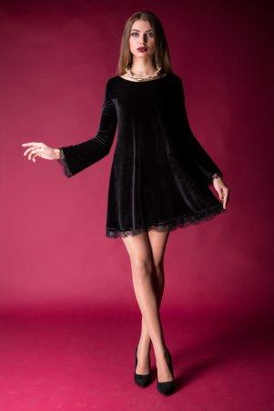 Cocoon. Платье. Артикул: Milano-black