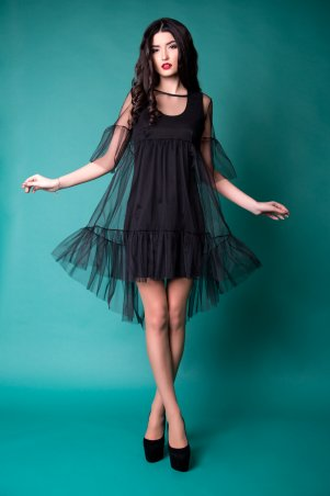 Cocoon. Платье. Артикул: Dolcedonna M1 - black