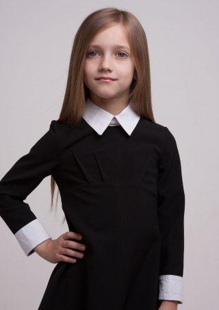 Sofia Shelest. Платье Лидия с воротником. Артикул: 000388