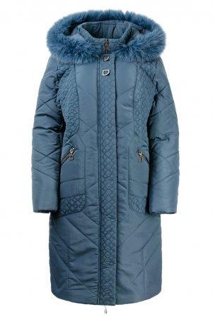 "A.G.. Зимнее пальто ""Люсия"". Артикул: 215 серый-голубой"
