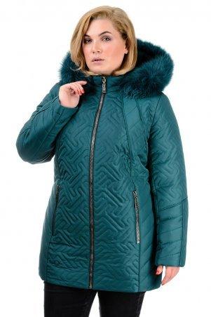 """A.G.. Зимняя куртка """"Кимберли"""". Артикул: 220 зеленый"""