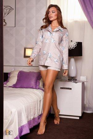 Domenica. Пижама с длинным рукавом и шортиками. Артикул: Р 2333 L