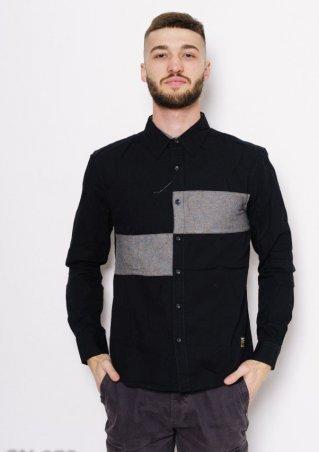 ISSA PLUS. Рубашки. Артикул: GN-275_черный/серый