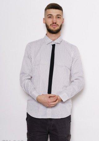 ISSA PLUS. Рубашки. Артикул: GN-269_черный/белый