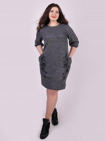 Eva Style. Платье. Артикул: 1146_серый