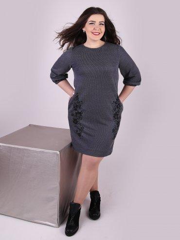Eva Style. Платье. Артикул: 1146_синий