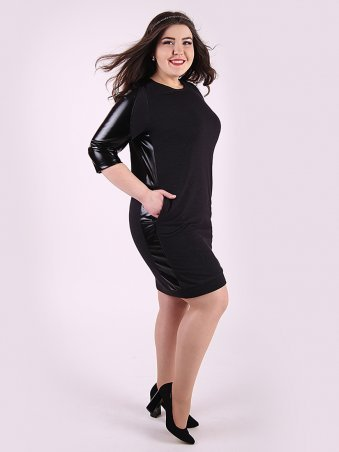 Eva Style. Платье. Артикул: 1148_черный