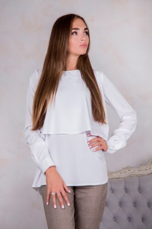 Domenica. Блуза с декором бусины. Артикул: Р 1876 L