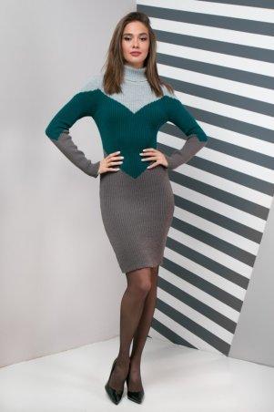 Guash. Теплое повседневное вязаное платье Эльза. Артикул: 1411