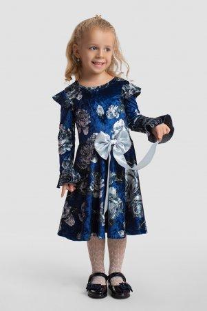 Modna Anka. Детское платье 112139 синий. Артикул: 112139