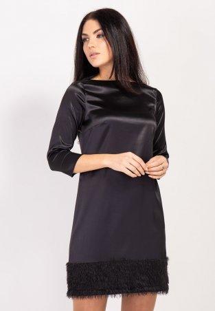 Bessa. Платье атласное с декоративной отделкой. Артикул: 1735