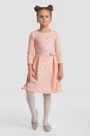 Modna Anka. Детское платье 112146 персиковый. Артикул: 112146