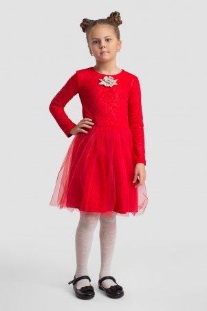 Modna Anka. Детское платье 112148 красный. Артикул: 112148