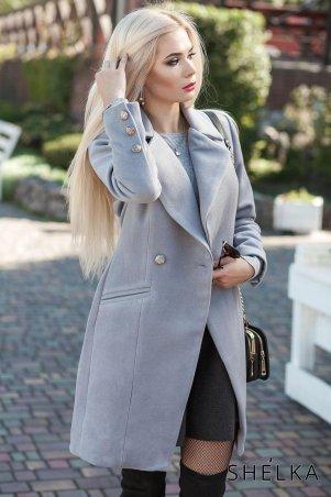 SHELKA. Кашемировое пальто Серый. Артикул: SH023-21