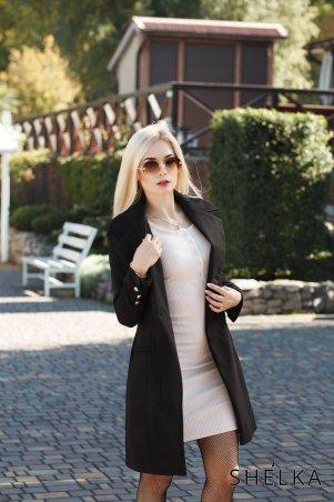 SHELKA. Кашемировое пальто Черный. Артикул: SH023-18