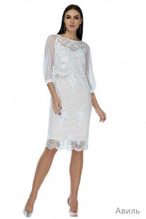 Angel PROVOCATION. Платье. Артикул: АВИЛЬ молочный на светло-бежевом