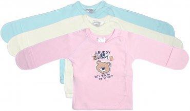 """Garden baby. Распашонка  """"Buddy Bears"""". Артикул: 18109-02"""