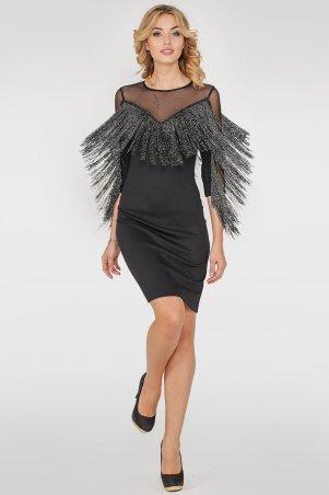 V&V. Платье 2765.47 черное. Артикул: 2765.47
