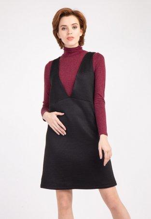 Bessa. Платье сарафан с текстурным узором. Артикул: 1742