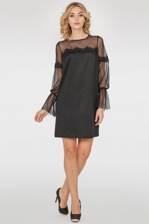 V&V. Платье 2752.112 черное. Артикул: 2752.112