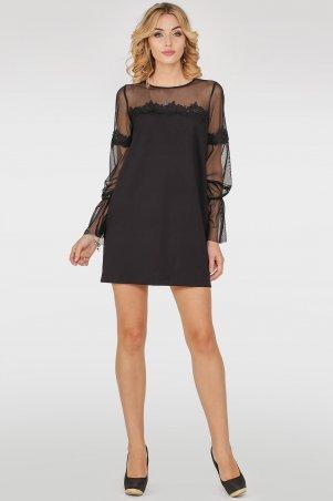 V&V. Платье 2752.47 черное. Артикул: 2752.47