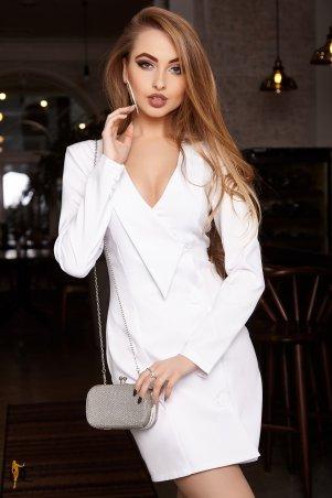 Domenica. Платье-пиджак с оригинальными лацканами. Артикул: Р 2375 L