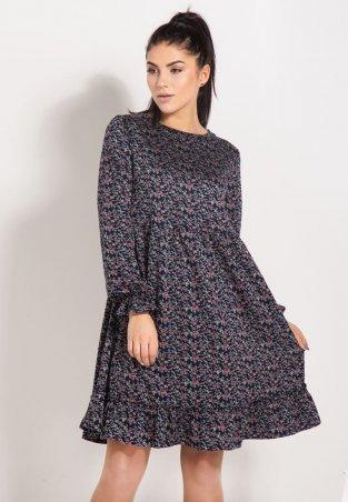 Bessa. Платье клеш в цветочный принт. Артикул: 1751