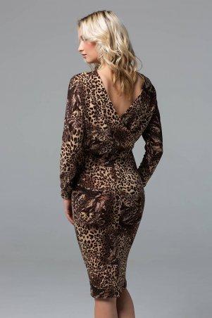 Zefir. Платье миди из ангоры. Артикул: RITA коричневое