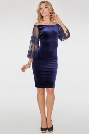 V&V. Платье 2754.26 синее. Артикул: 2754.26