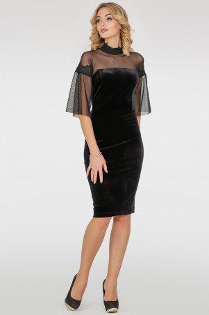 V&V. Платье 2757.26 черное. Артикул: 2757.26