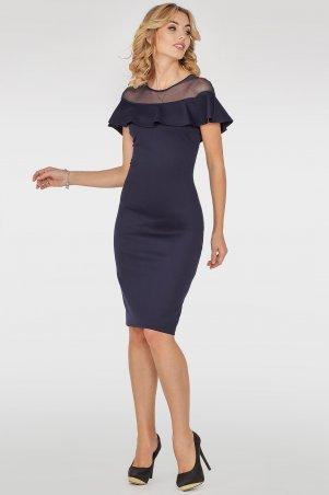 V&V. Платье 2751.47 темно-синее. Артикул: 2751.47