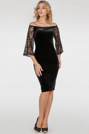 V&V. Платье 2754-1.26 черное. Артикул: 2754-1.26