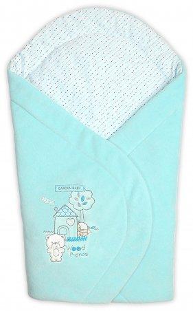 Garden baby. Конверт одеяло велюровое. Артикул: 106045-01/32