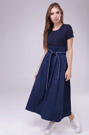 Lavana Fashion. Юбка макси из коттона. Артикул: LVN1804-0995