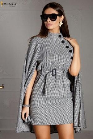 Domenica. Платье с эффектной пелериной. Артикул: Р 2401