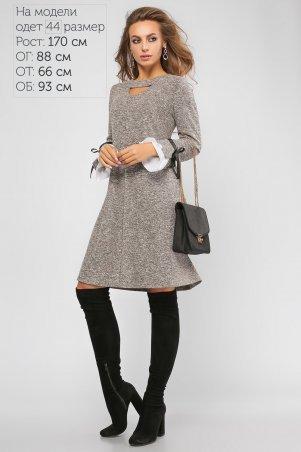 LiPar: Платье Милана Коричневое 3109 коричневый - главное фото