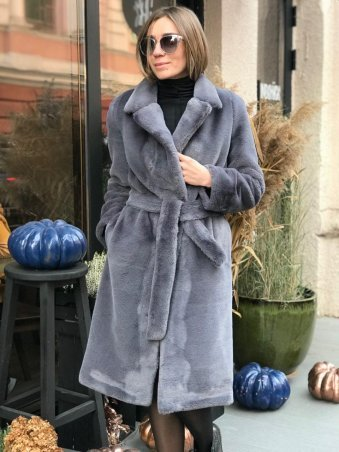 Lavana Fashion. Шуба из искусственного меха. Артикул: LVN1804-1017