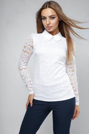 LiPar: Женская блузка с длинным рукавом Белая 2046 д/р белый - главное фото