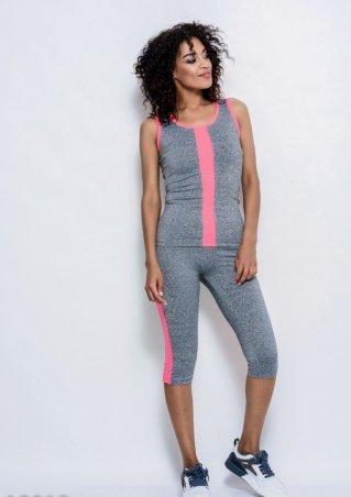 ISSA PLUS: Спортивные костюмы 10010_светло-серый/розовый - главное фото