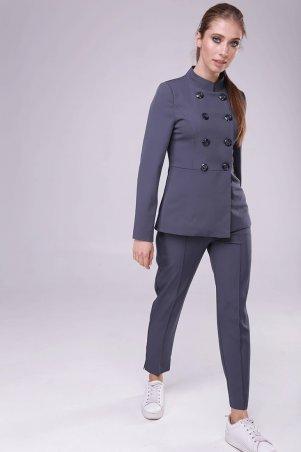 Lavana Fashion. Костюм с баской. Артикул: LVN1804-1037-1