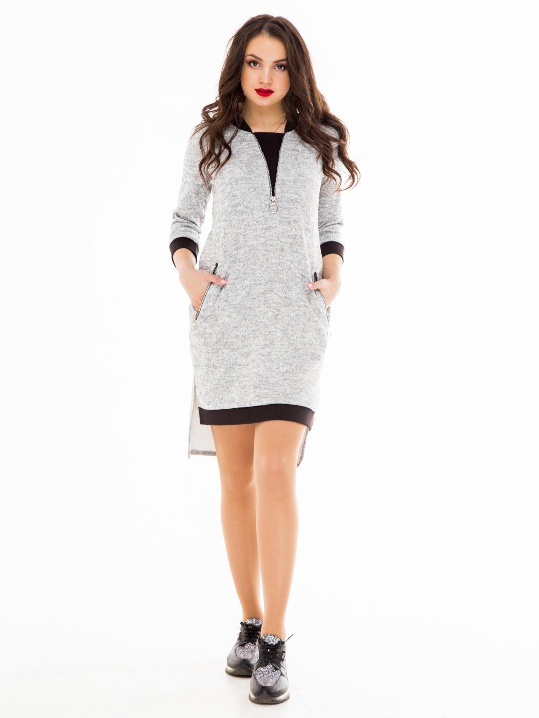 Платье 78059-GRY от Alpama, цвет серый