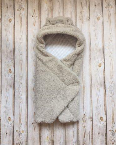 . Одеяло - конверт с капюшоном. Артикул: 106050-24/26