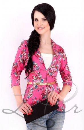 LiPar. Женский короткий пиджак Розовый. Артикул: 1004/4 розовый