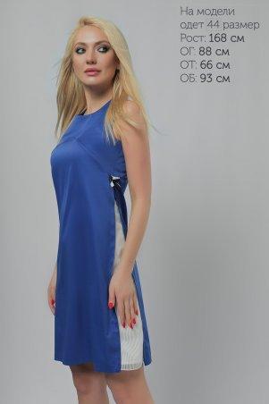 393067d05e2 Платье Вставка Электрик 3211 электрик цвета электрик от